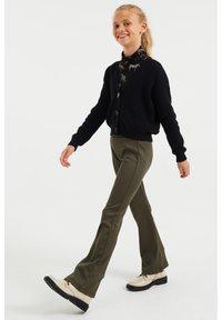 WE Fashion - Broek - dark green - 1