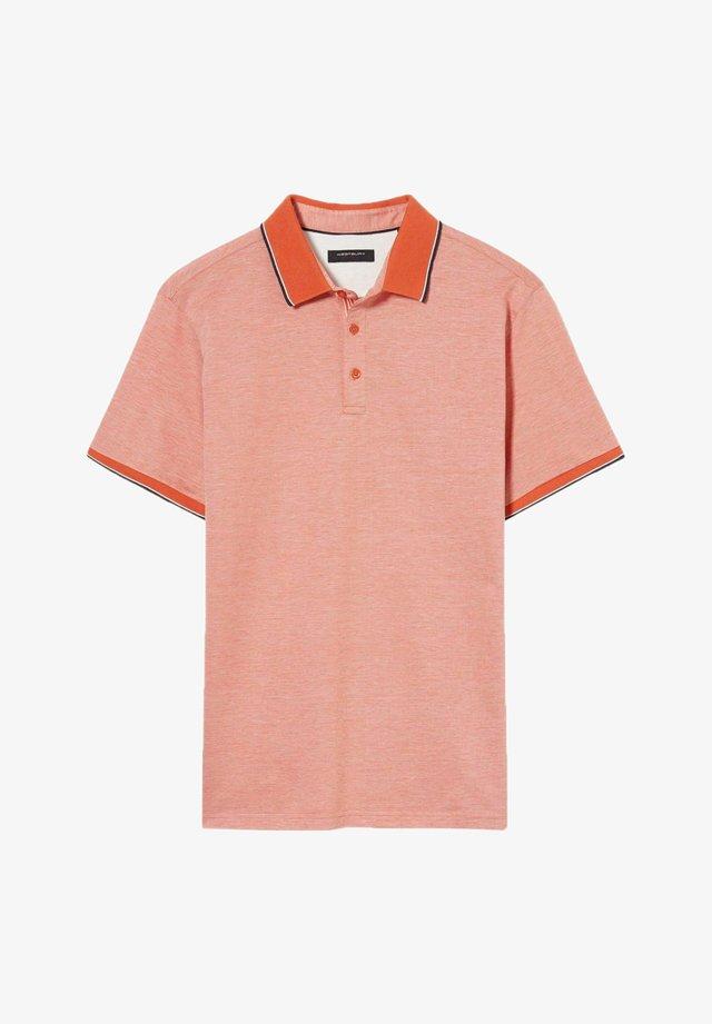 Poloshirt - orange-melange