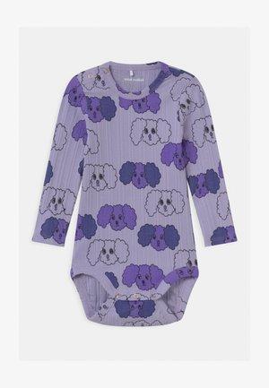 BABY FLUFFY DOG  - Body - purple