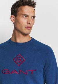 GANT - COLOR LOCK UP CNECK - Sweatshirt - crisp blue - 3