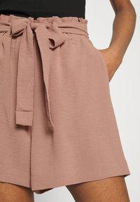 ONLY - ONLLAVENDER PAPERBAG - Shorts - burlwood - 3