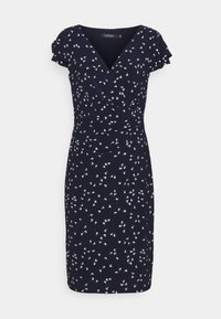 Lauren Ralph Lauren - PRINTED MATTE DRESS - Shift dress - lighthouse navy - 5