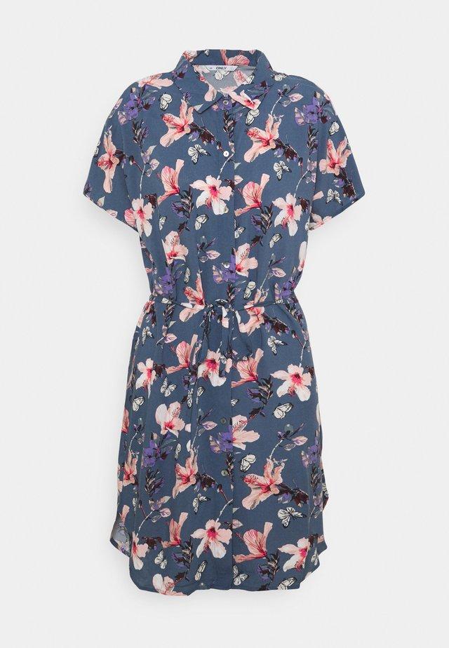 ONLNOVA LIFE DRESS - Shirt dress - vintage indigo