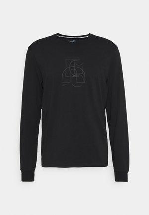 PARQUET GRAPHIC TEE - Pitkähihainen paita - black