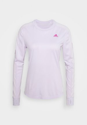 SPORTS RUNNING LONG SLEEVE - Funkční triko - purple