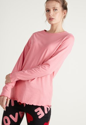 MIT MUSCHELKANTE - Pyjama top - candy pink