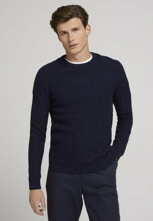 Sweter - sky captain blue