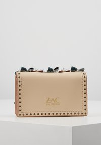 ZAC Zac Posen - EARTHETTE CREDIT CARD CASE - Schoudertas - oat - 2