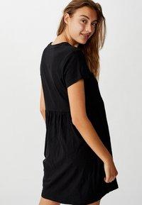 Cotton On Curve - TINA BABYDOLL  - Jersey dress - black - 2