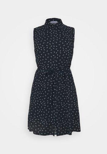 Vestido camisero - dark blue/ light grey