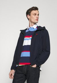 Polo Ralph Lauren - POPLIN HOODED JACKET - Summer jacket - aviator navy - 4
