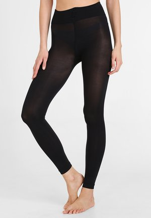 TRUE MATT - Leggings - Stockings - black