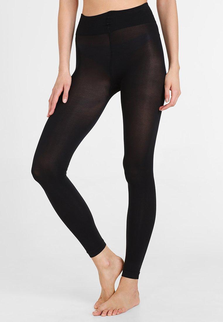 camano - TRUE MATT - Leggings - Stockings - black