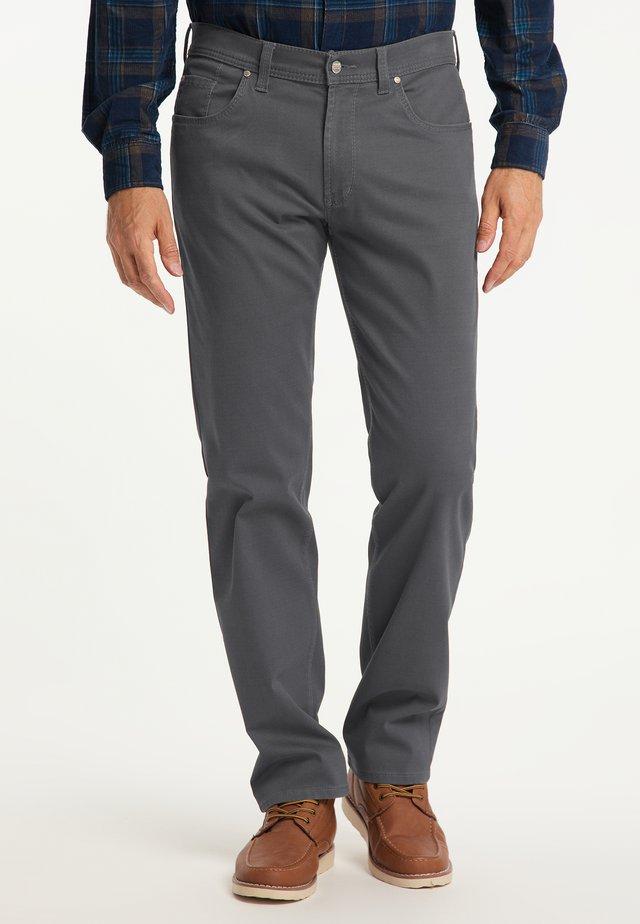 THOMAS - REGULAR FIT - Trousers - grey