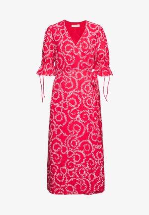 FIRE MIDI DRESS - Day dress - red