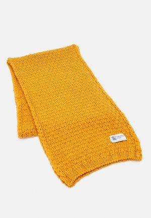 BASKETWEAVE SCARF - Scarf - amber