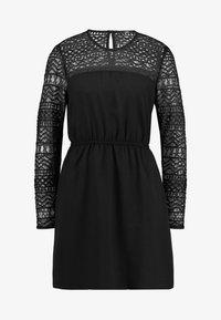 ONLY - ONLDEMI SHORT DRESS - Robe d'été - black - 4