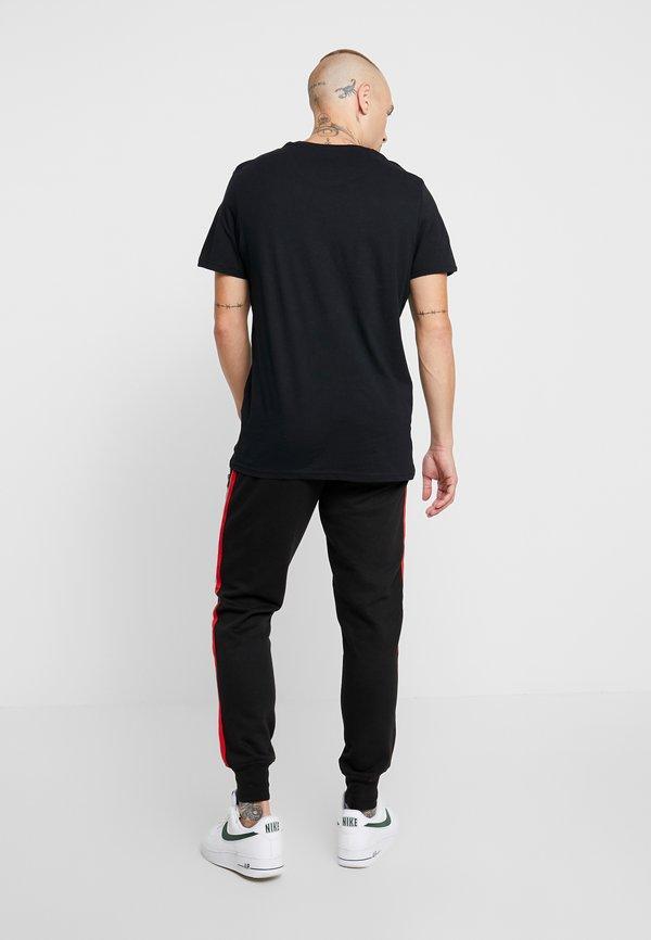 Brave Soul SIEGELL - Spodnie treningowe - black/czarny Odzież Męska IAGH