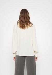 Vero Moda - VMNICOLETTE - Button-down blouse - oatmeal - 2