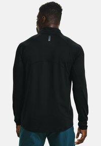 Under Armour - QUALIFIER RUN - Långärmad tröja - black - 2