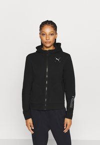 Puma - NU TILITY - Zip-up hoodie - black - 0