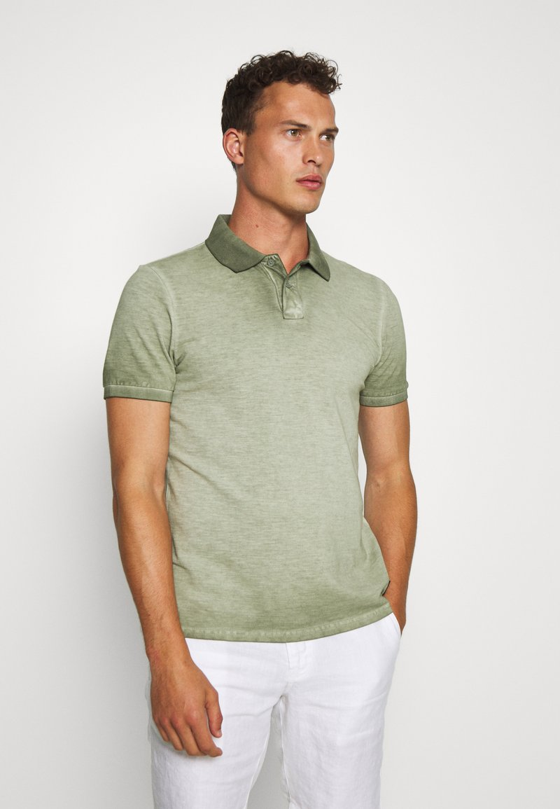Q/S designed by - Polo shirt - seagrass