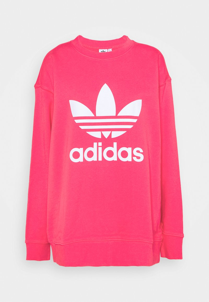 adidas Originals - CREW  - Sudadera - power pink/white