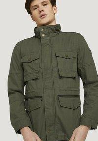 TOM TAILOR - Light jacket - olive night green - 4