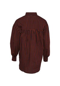 Noella - TATE - Button-down blouse - terracotta checks - 4