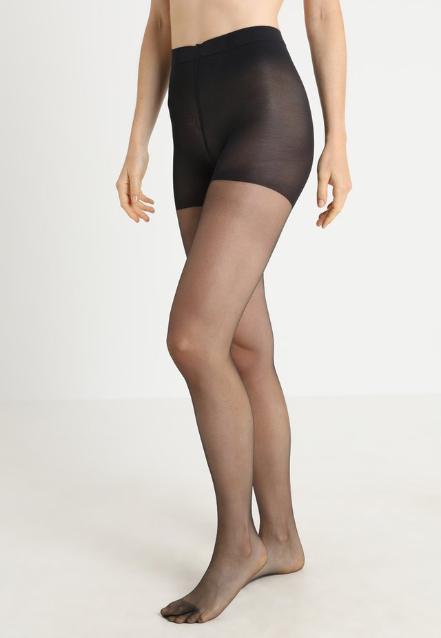 FALKE INVISIBLE DELUXE SHAPING 8 DENIER STRUMPFHOSE ULTRA-TRANSPARENT MATT - Collant - black