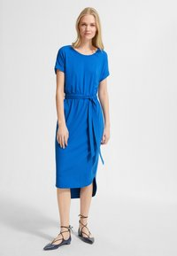 comma casual identity - Jersey dress - royal blue - 0