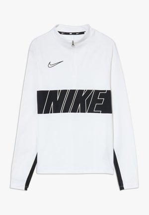 DRY ACADEMY DRIL  - Koszulka sportowa - white/black