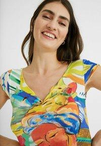 Desigual - T-shirt imprimé - multicolor - 3