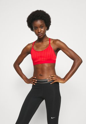 INDY BRA - Light support sports bra - chile red/university red/white