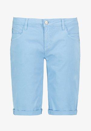 CHINO-BERMUDA - Denim shorts - light-blue