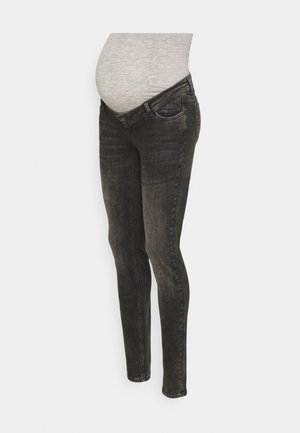 MLCALIFORNIEN SLIM - Jeansy Skinny Fit - dark grey denim