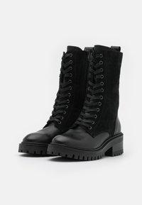 ZIGN Wide Fit - Bottes à lacets - black - 2