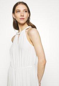 Vila - VIMESA BRAIDED DRESS - Maxi šaty - snow white - 3