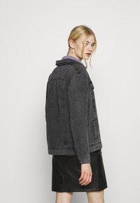 Noisy May - NMOLE  - Denim jacket - dark grey denim - 2