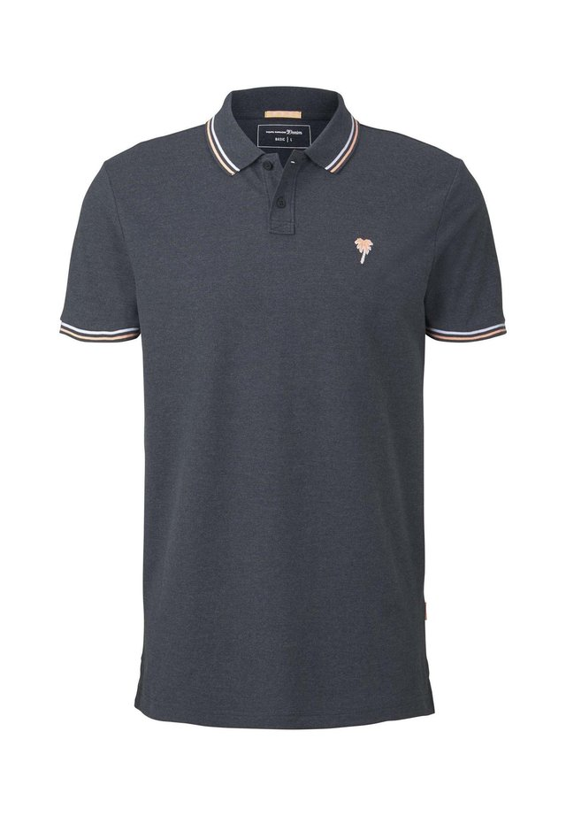 Polo - sky captain blue non-solid