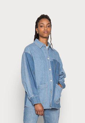 SARAH  - Summer jacket - blue denim washed