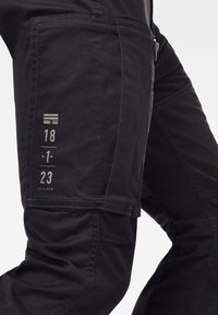 G-Star - FLIGHT CARGO 3D SKINNY - Cargo trousers - dk black - 4