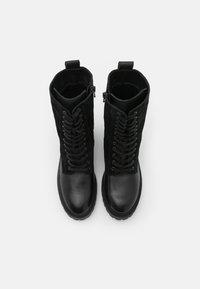 ZIGN Wide Fit - Bottes à lacets - black - 5