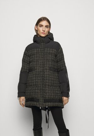 GIANMARIA QUILTED COAT - Vinterkåpe / -frakk - black