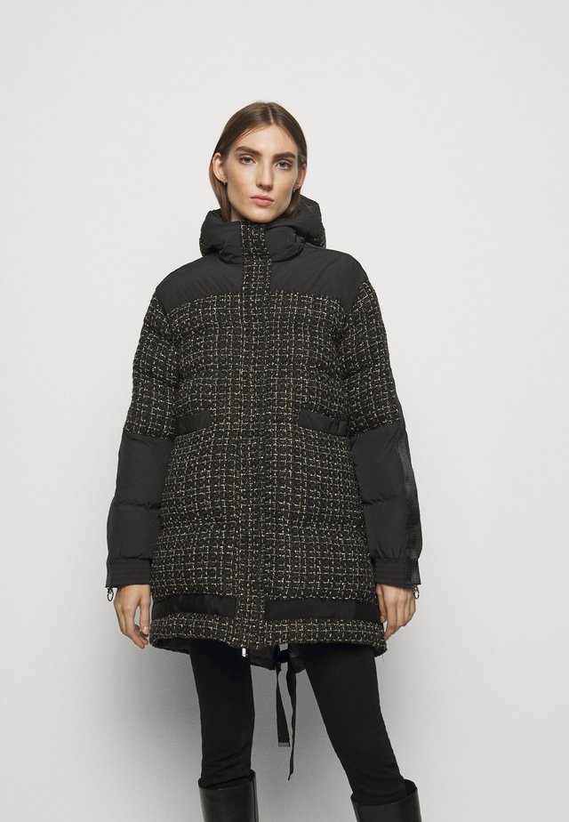 GIANMARIA QUILTED COAT - Vinterfrakker - black