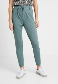 ONLY - POPTRASH EASY COLOUR  - Tracksuit bottoms - balsam green - 0