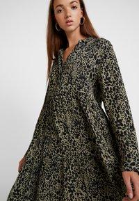 Superdry - SCANDI DRESS - Shirt dress - green - 5