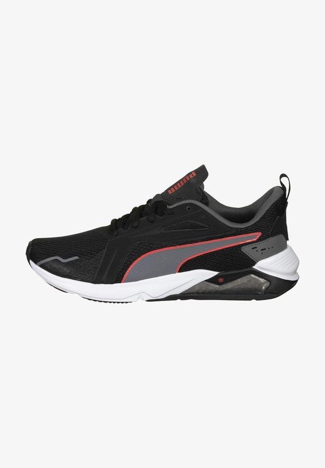 LQDCELL  - Sneakers laag - puma black / castlerock / poppy red