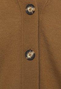 Marc O'Polo - CARDIGAN LONGSLEEVE NECK - Cardigan - desert camel - 2