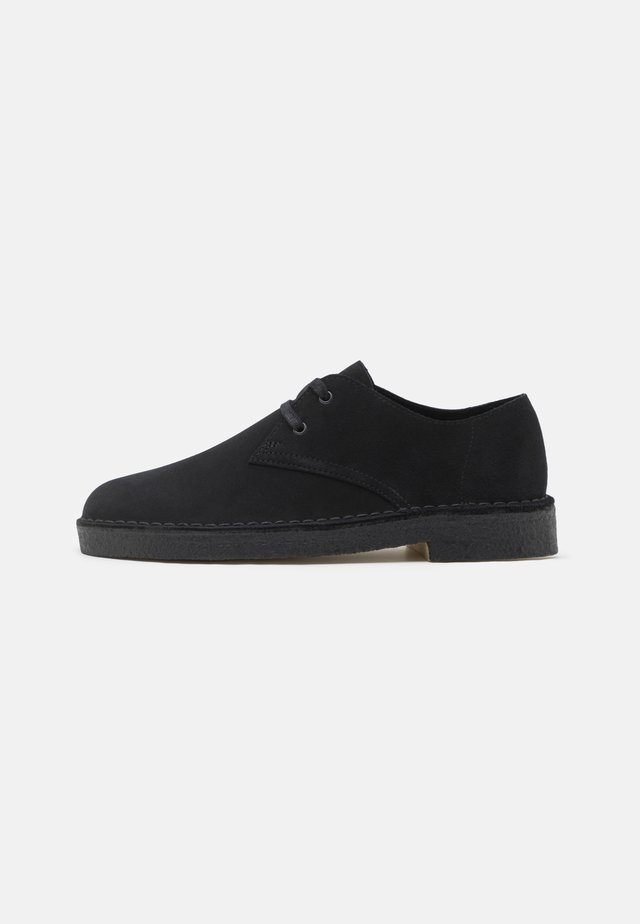 DESERT KHAN - Casual lace-ups - black